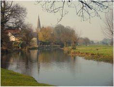 The backwater at Denford