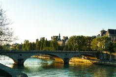 Bridges over the Seine, Paris