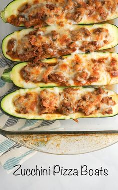 Low carb zucchini and ground turkey boats for under 250 calories and only 5 Weight Watchers PointsPlus