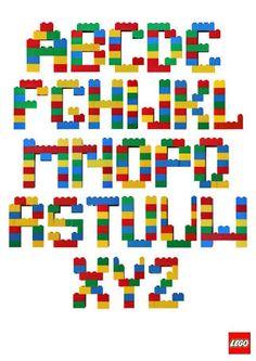 Buchstaben in Hülle und Fülle - Zeit für LEGO!