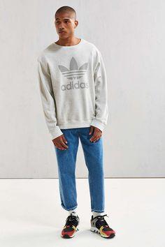 adidas Noize Crew Neck Sweatshirt - Urban Outfitters