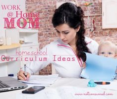 Are you a work at home mom looking for easier homeschool curriculum solutions? We've got some ideas for you!