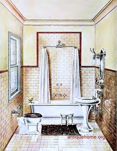 1912 bathroom
