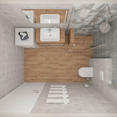 Dlažba Modesto a Catalea #koupelnygres #3ddesign #bathroomdesign #bathroomvisualization #ceramikagres #modesto #cerrad #catalea Alcove, Bathtub, Bathroom, Standing Bath, Washroom, Bathtubs, Bath Tube, Full Bath, Bath