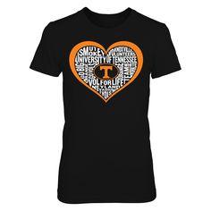 Word Cloud Heart - Tennessee Volunteers T-Shirt  Tennessee Volunteers Official Apparel - this licensed gear is the perfect clothing for fans. Makes a fun gift!  AVAILABLE PRODUCTS District Women's Premium T-Shirt - $29.95   District Women District Men Gildan Unisex Pullover Hoodie Next Level Women Gildan Long-Sleeve T-Shirt Gildan Fleece Crew View sizing / material info This is a fitted female style. For a true fit order size up. ...