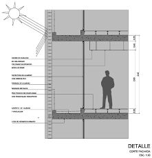 Detalle de persiana vertical dwgdibujo de autocad for Parasoles arquitectura