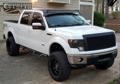 2 2011 F 150 Ford Rough Country Suspension Lift Anthem Off Road Enforcer Black Lifted Ford Trucks, Custom Trucks, Chevy Trucks, Pickup Trucks, F150 Lifted, 2011 Ford F150, Ford F150 Fx4, Ford Raptor, Ford Explorer Accessories