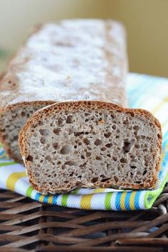 Zdjęcie: Przepis na szybki chleb Quick Bread Recipes, Baby Food Recipes, Cake Recipes, Cooking Recipes, Bread Bun, Breakfast Snacks, Bread Baking, I Love Food, Food To Make