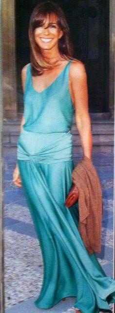 Lydia Bosch vestida de Oh Que Luna.