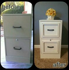 Give your filing cabinet a new look