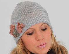 Easy sewing PDF pattern. Winter beanie hat pattern.