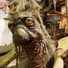 Getting so close to these creations was a real fun experience. Be sure to check out the Jim Henson exhibit at the Atlanta Center for Puppetry Arts.  #centerforpuppetryarts #puppetry #atl #atlanta #henson #jimhenson #cellphone #photography #brianfroud #puppetryatl @ctr_puppetry_arts