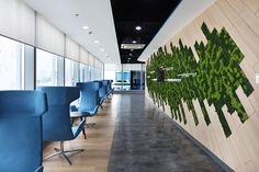 A new community workspace for Amadeus and Navitaire Office Floor, New Community, World Cities, Plant Art, Stone Tiles, Sofa Chair, Manila, Game Room, Flooring