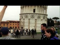Awesome video of a guy giving people posing at the leaning tower for pictures high fives