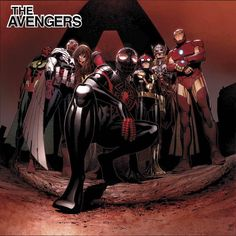 All-New All-Different Avengers #1 Cover B Variant Jim Cheung Marvel Hip-Hop Cover