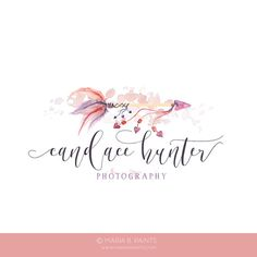 Watercolor Business Logo watercolor design by MariaBPaints on Etsy