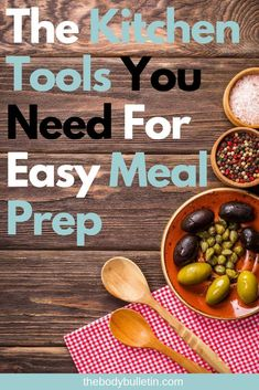 When it comes to meal prep and cooking, it can be difficult and time consuming. These are the tools I use to make this process a fast as possible. Clean Eating Diet Plan, Clean Eating Recipes For Dinner, Clean Eating Breakfast, Healthy Eating Habits, Clean Eating Snacks, Easy Meal Prep, Healthy Meal Prep, Easy Healthy Recipes, Easy Meals