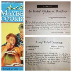 Mayberry Chicken & Dumpling Recipe