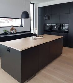 Nice Contemporary Kitchen Design Ideas - Page 15 of 48 Luxury Kitchen Design, Kitchen Room Design, Contemporary Kitchen Design, Kitchen Cabinet Design, Interior Design Kitchen, Kitchen Decor, Kitchen Ideas, Contemporary Bedroom, Modern Contemporary