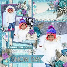 Cindy's Half Pack Template Set #99 Ice Queen by Kristin Cronin Barrow and Studio Flergs