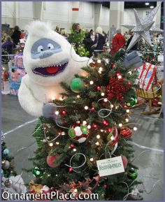 one of my favorite christmas characters the abominable snowman - Abominable Snowman Rudolph Christmas Decoration