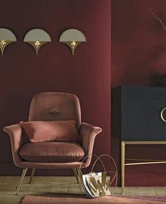 Quel fauteuil rose choisir ? | My Blog Deco Rose Pastel, Blog Deco, Looks Vintage, Recliner, Lounge, Chair, Furniture, Home Decor, Vintage Modern
