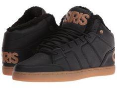 Osiris - Convoy Mid SHR (Black/Work) Men's Skate Shoes