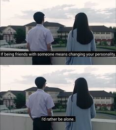 Rather Be Alone, All Quotes, Drama Movies, You Changed, Thailand, How Are You Feeling, Kpop, Actors, Feelings