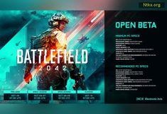 Battlefield 2042 açık beta tarihi açıklandı! - Oyun Haberleri - Yaşam ve Teknoloji bLoGu Electronic Art, Pc Or Console, Fast Internet, Movie Posters, Film Poster, Billboard, Film Posters
