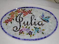 Nome em mosaico