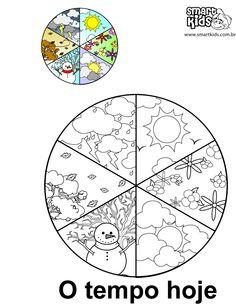 16 ideias de TEMPO HOJE - mapa do tempo, tempo pré-escolar ...