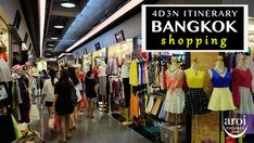 4D3N Bangkok Itinerary (Shopping) - AroiMakMak | Your Travel One-Stop Guide