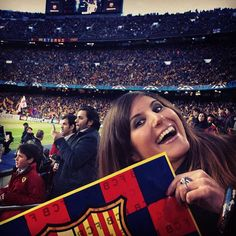 Our first ever visit to Barça's Camp Nou!