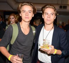 Cole and Dylan Sprouse.