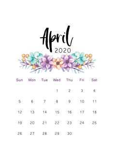 Great Pictures 2020 calendar cactus Style The personalized calendars are created to give your company a means to promote your company when giv Cool Calendars, Cute Calendar, Print Calendar, Calendar Design, Blank Calendar, April Month Calendar, 2020 Calendar Template, Free Printable Calendar, Printable Planner