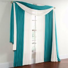 "Brylanehome Sheer Voile Rod-Pocket Panel, 120""Wx63"" Or 84""L, Pair by BrylaneHome. $6.49. Sheers are prized for the way they gently filter light and our, billowy voile curtains do it beautifully. Designed in easy care polyester to create a soft appealing glow that brightens any room, these rod-pocket panels define your windows with style and flare. Our drapery also works perfectly with complementing Scenario® top window treatments in a variety of styles to create a..."
