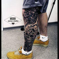 Tattoo by Vladimir Drozdov