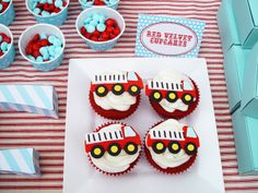 fire truck themed birthday party - Google Search