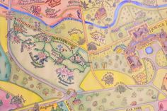 Howick Hall map