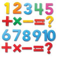 MathMagnets® Jumbo Multicolored Magnets.