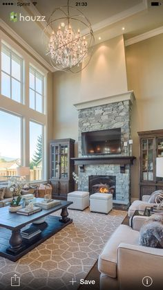 Love coffee table and fire place