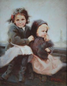 "Daily Paintworks - ""American Dream Memories"" - Original Fine Art for Sale - © Cecile W. Morgan"