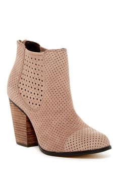 f4c1c7a1b36 Image of Me Too Frankee Perforated Ankle Boot Nordstrom Rack