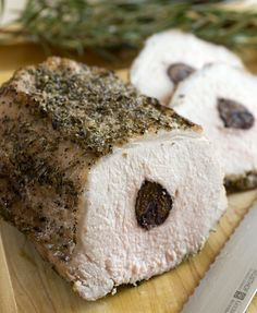 Recipe: Stuffed pork loin with figs || Photo: Evan Sung for The New York Times