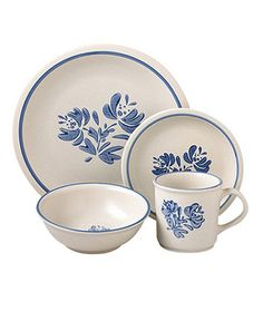 Pfaltzgraff Dinnerware, Yorktowne 200th Anniversary 32 Piece Set  I'm inheriting these from my Grandmother. I am so excited!!!