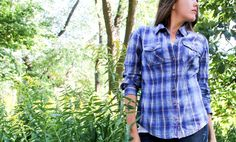 #Carhartt Women's Annapolis Shirt-- practical and stylish with just the right amount of flex to keep you moving while you're working.
