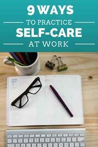 Work and home relationships often spillover. If you feel you can't find time at home for self-care, try these tips at work. Relieving stress at work may also help add pleasure to your relationship at home. Tips & Tricks, Self Compassion, Work Life Balance, Self Care Routine, Stress Management, Social Work, Best Self, Self Development, Take Care Of Yourself