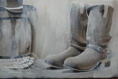 """Western"" Acryl on Canvas 40 cm x 60 cm"