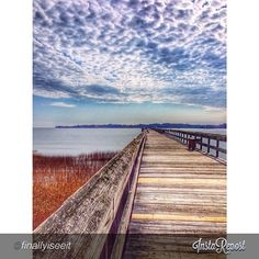 Hunting Island Pier at Hunting Island State Park #scstateparks