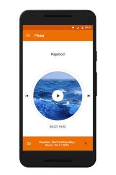 Radio apps for Estonian Public Broadcasting on Behance